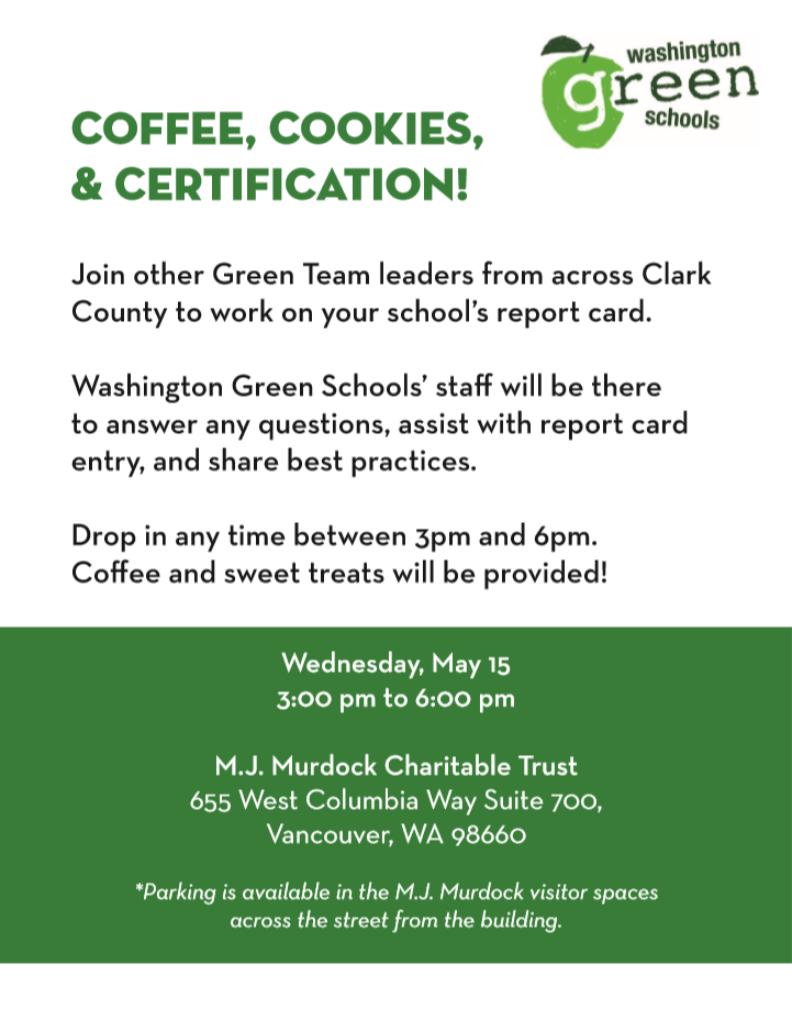 Need help with your Washington Green Schools report card?