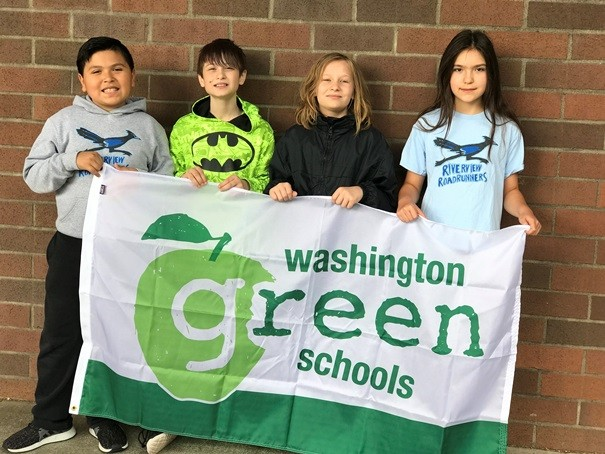 Students at Riverview Elementary