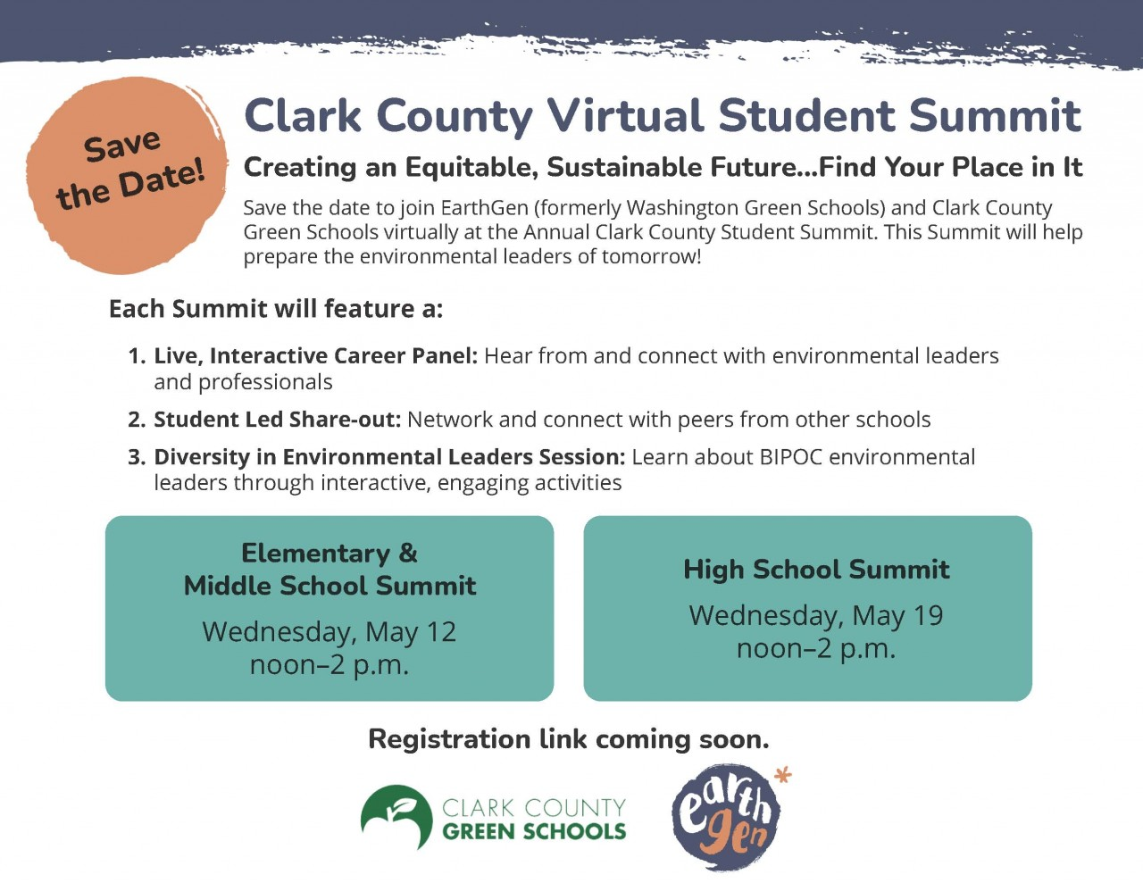 Virtual Student Summit announced - Save the date!