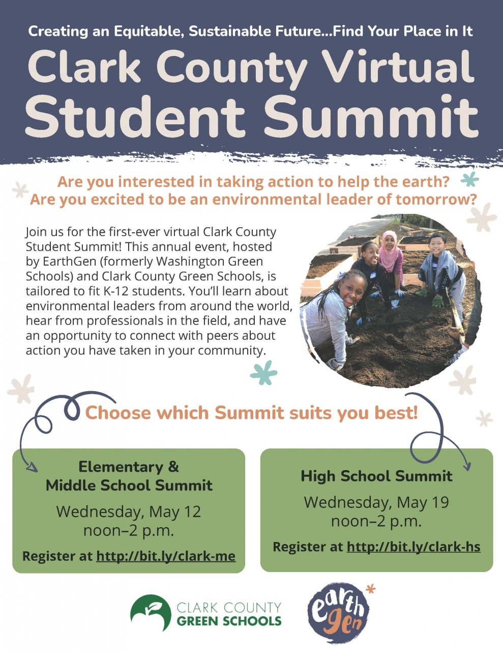 Register today - Virtual Student Summit coming in May