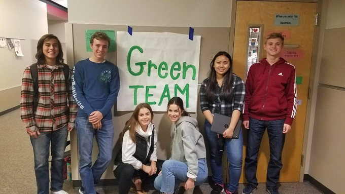 Why Re-certify? Camas High School pursues Washington Green Schools Re-certification
