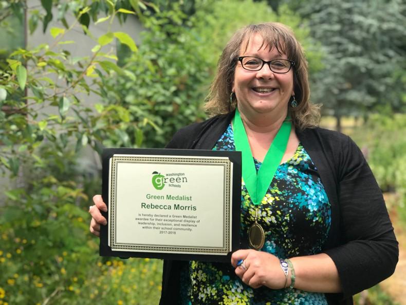 Washington Green Schools awards local Green Medalists